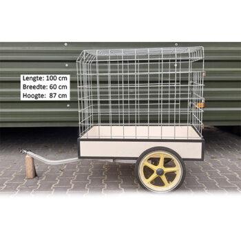 Hondenkar Bench – Geluidsarm